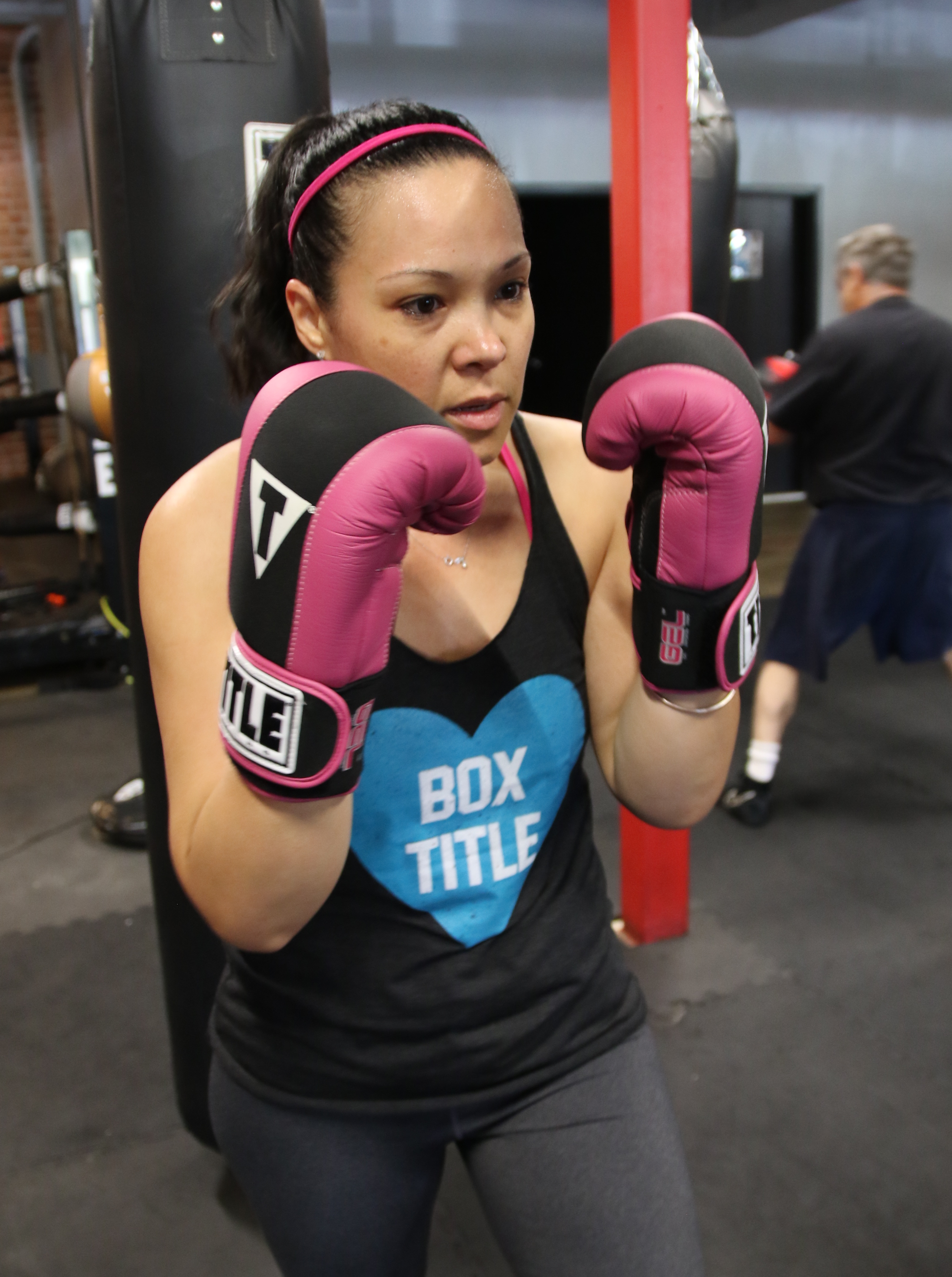 LT Rosario engaged in boxing