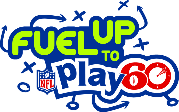"""Fuel up to Play 60"" logo (NFL)"