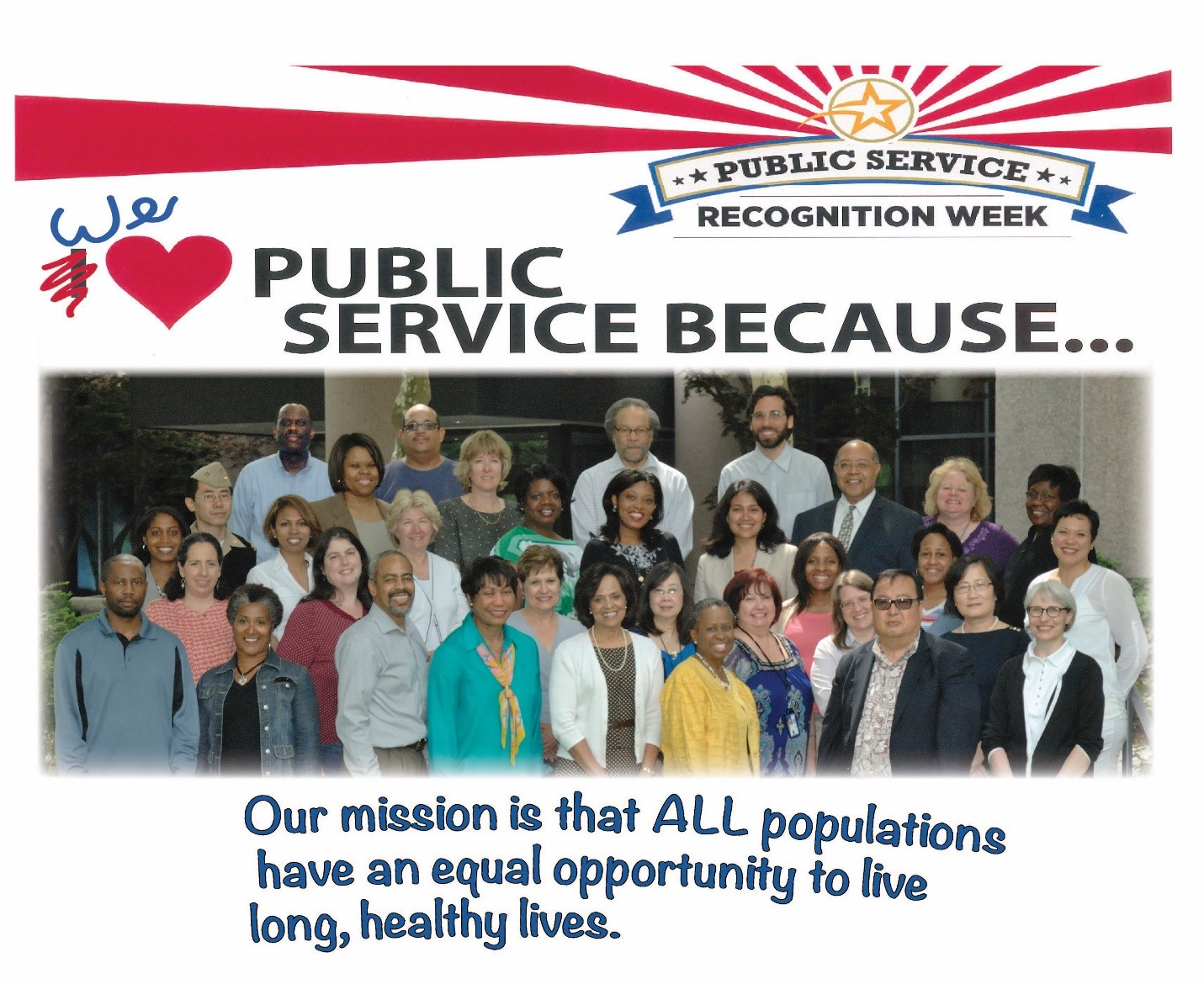 NIMHD staff celebrate Public Service Recognition Week