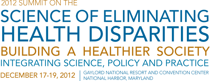 2012 Health Disparities Summit Logo
